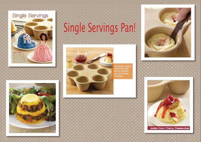 Single Serving Pan Www Pamperedchef Biz Trinapatterson Single Serving Recipes Pampered Chef