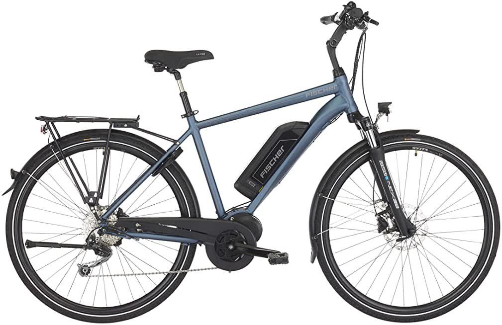 Fischer Herren E Bike Trekking Eth 1820 Saphirblau Matt 28 Zoll Rh 50 Cm Mittelmotor 50 Nm V 2020 G