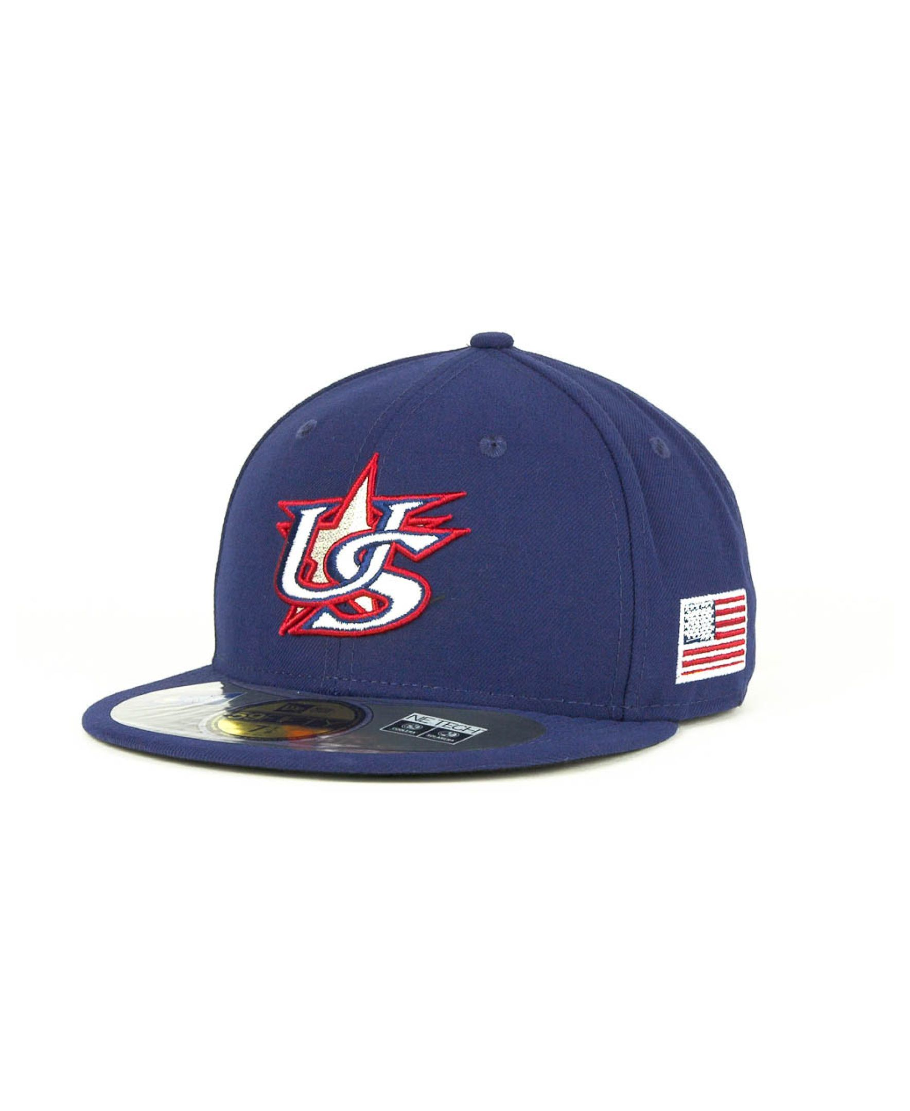 e852b53ce9f New Era Usa 2013 World Baseball Classic 59FIFTY Cap
