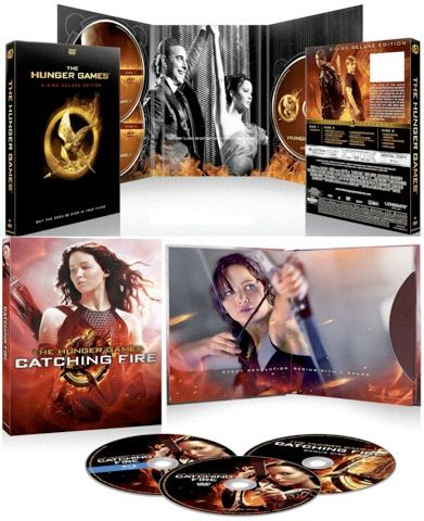 The hunger games & catching fire DVD