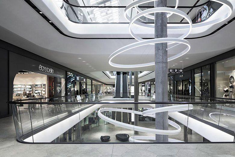 Das GERBER Shopping Mall, Stoccarda, 2014 - Ippolito Fleitz Group Identity Architects