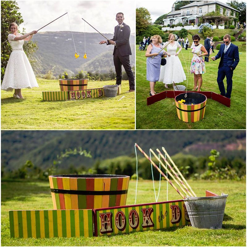 Fun Wedding Reception Ideas Activities: This Bright, Vintage Fete Style Game Is A Great Way To Get