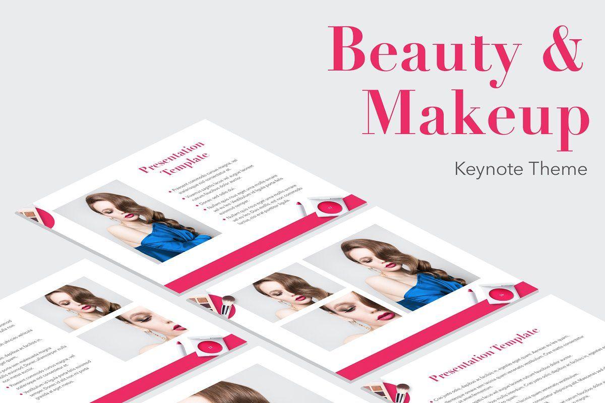Beauty Maker PowerPoint Template in 2020 Powerpoint