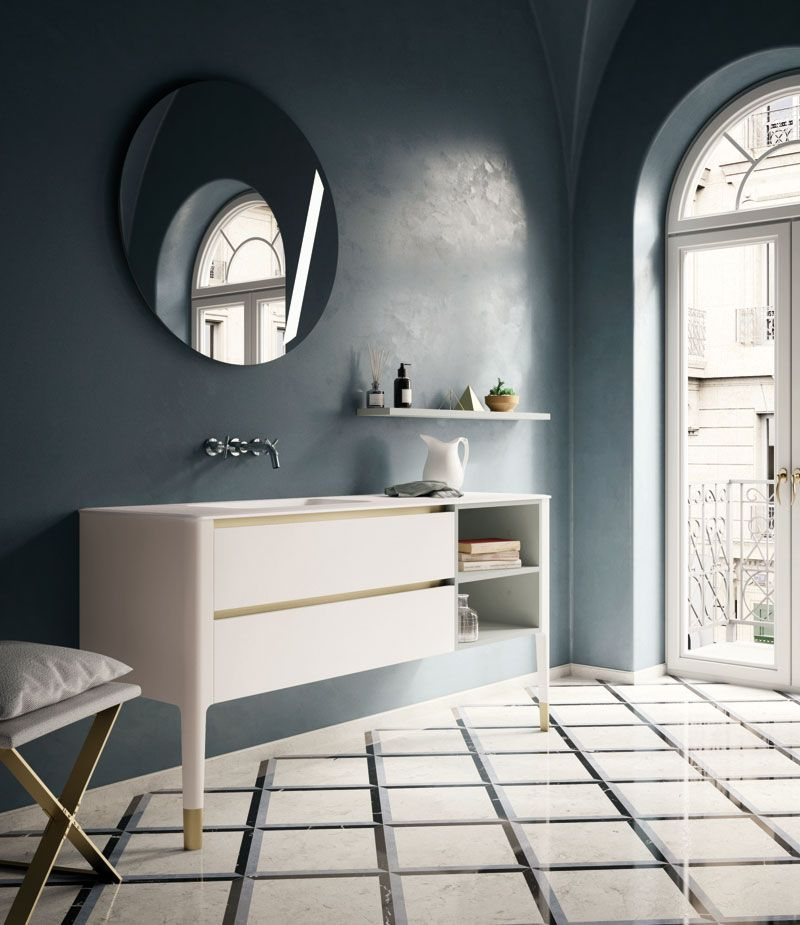 Arredobagno Art By Puntotre Home Bagno Arredobagno Bathroom Interiors Design Artdeco Con Immagini Bagno Design Art Deco