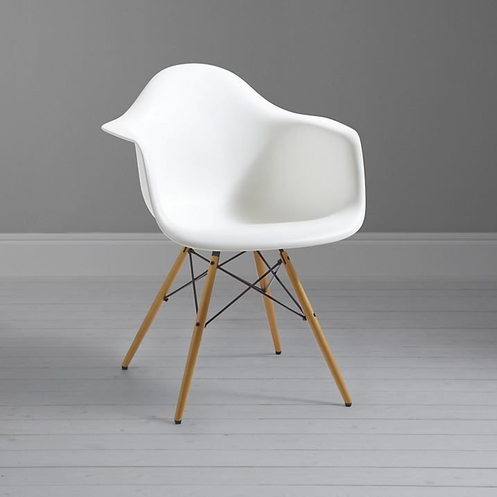 Charles Ray Eames Eiffel Inspired White DAW Side Dining Chair Retro White  Colour In Home, Furniture U0026 DIY, Furniture, Chairs | EBay