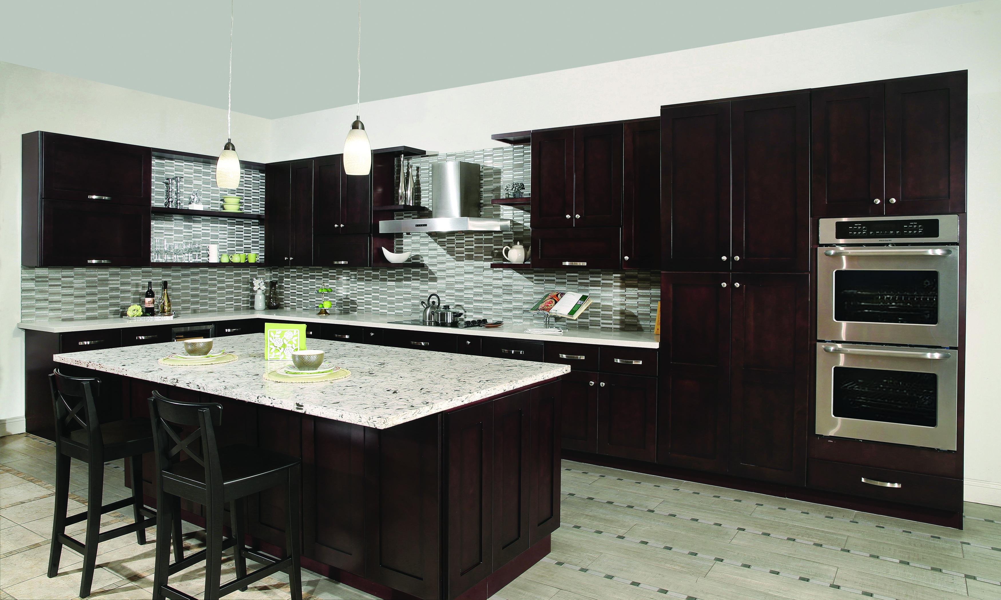 Beech Espresso In 2020 Kitchen Interior Kitchen Cabinets Kitchen Design