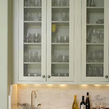 Chicken Wire Doors & Inspiration For A Shabby-chic Style Kitchen ...
