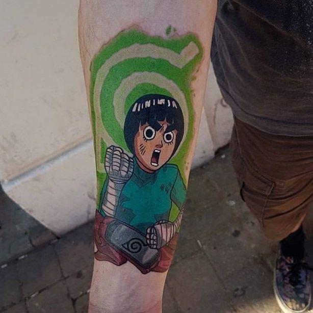 Rock Lee Tattoo