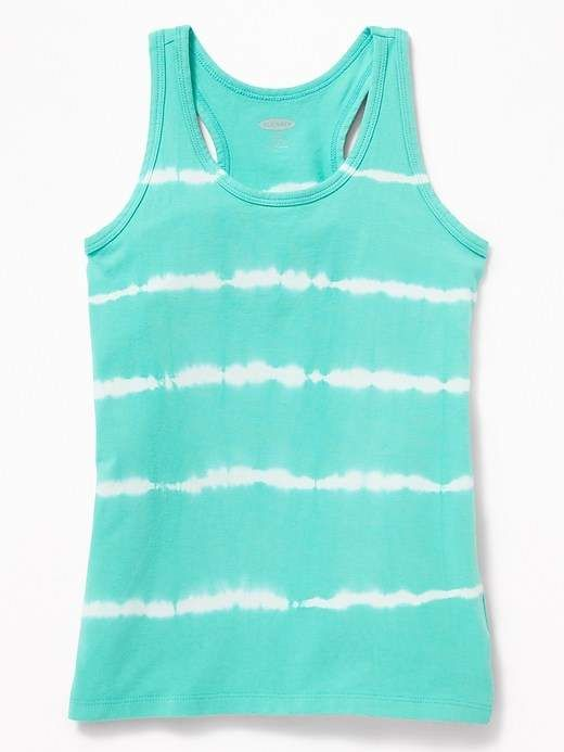 f40ef688e5f5e Old Navy Fitted Racerback Tank for Girls