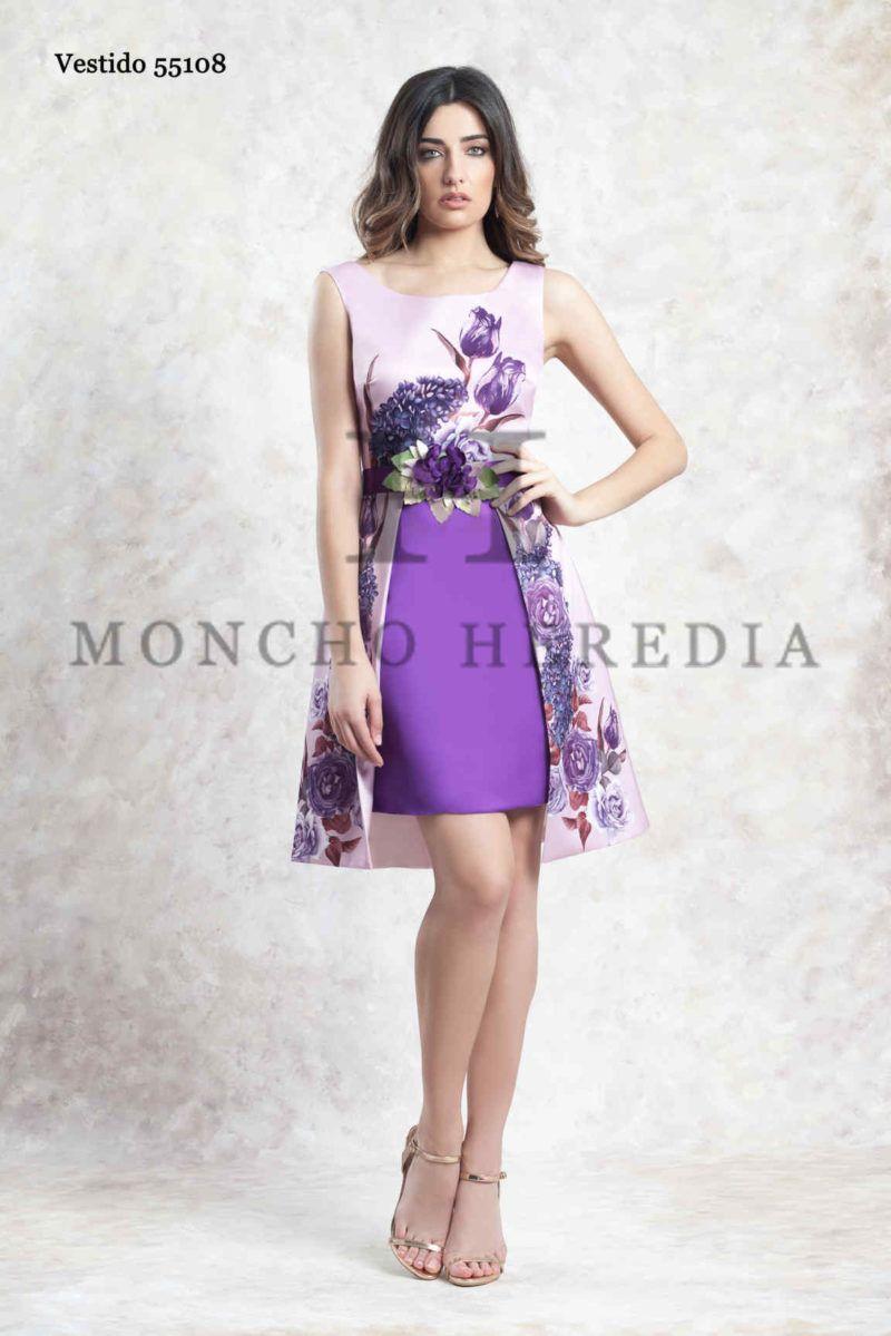 216cc67f6b Vestidos de fiesta Moncho Heredia colección 2019 - Entrenovias in ...