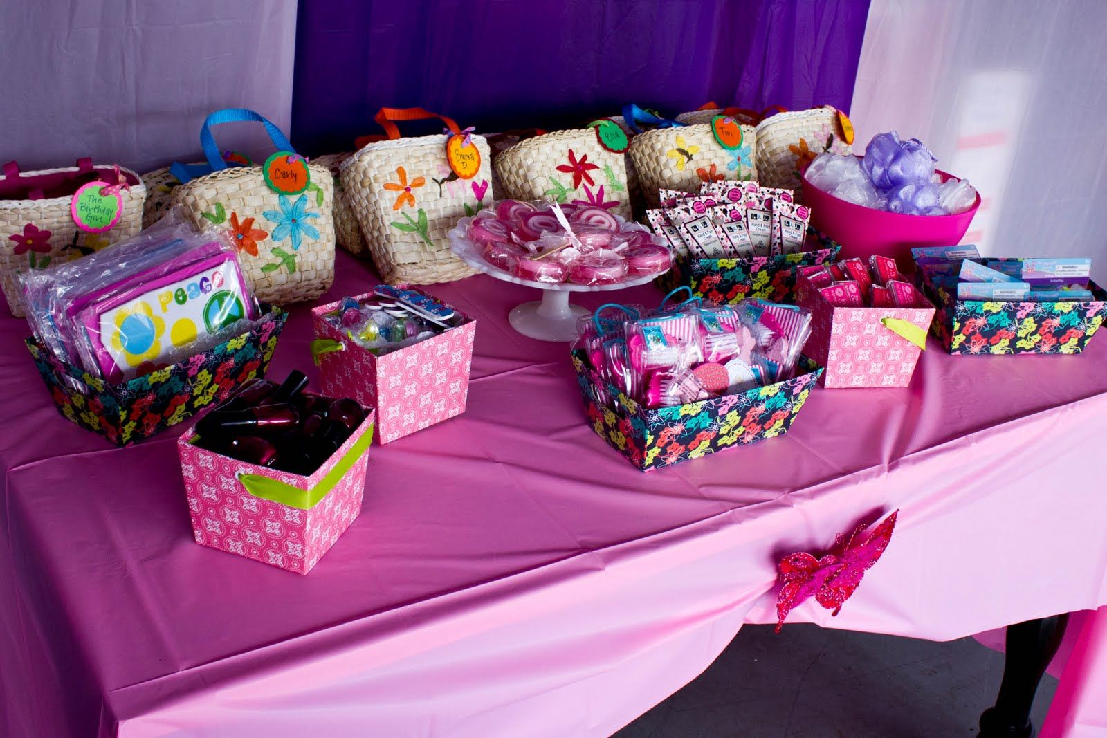 spa party ideas for girls birthday Bliss Images and Beyond A