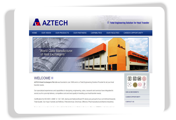 Aztech Heat Exchange Solar Energy Power is mainly dealing