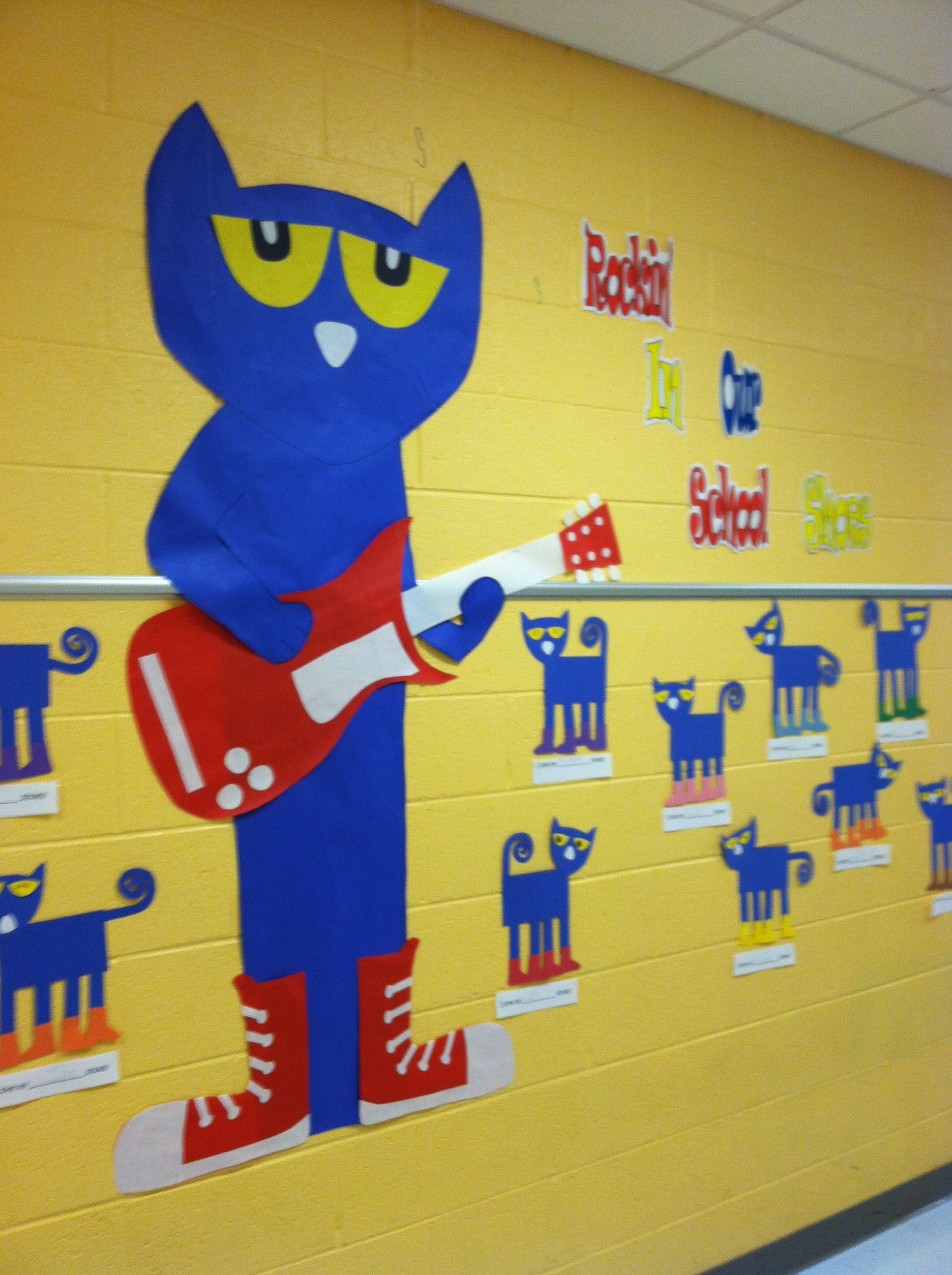 Pete The Cat I Love My White Shoes It Looks So Cute In