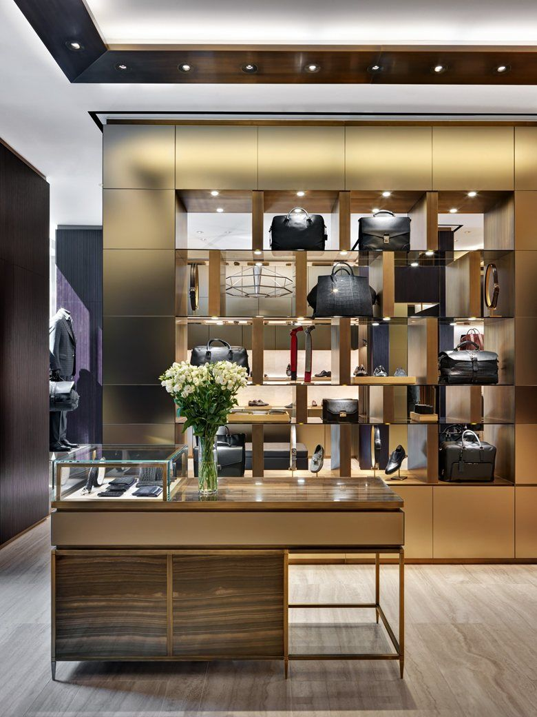 Brioni flagship store milano milan 2014 park associati for Shop milano