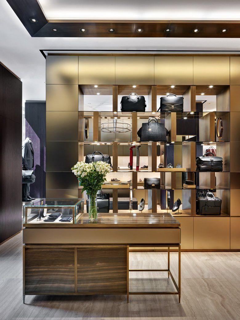 Brioni flagship store milano milan 2014 park associati for Milano design shop