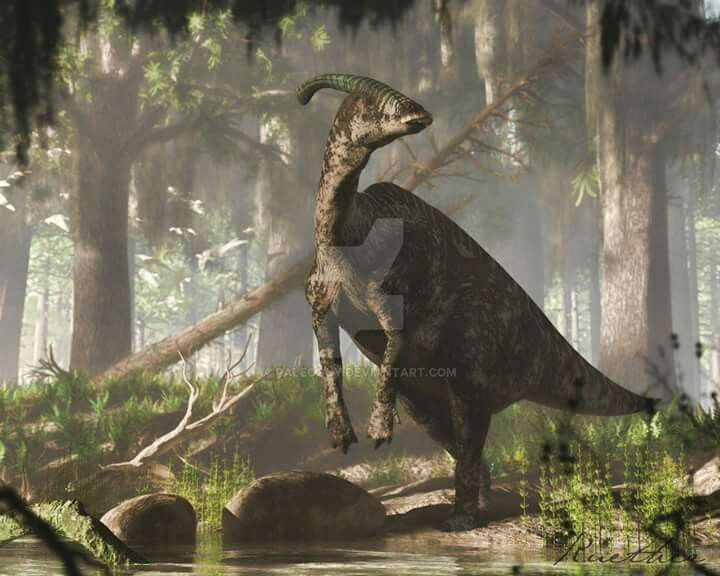 Parasaurolophus Is A Genus Of Ornithopod Dinosaur That Lived In What