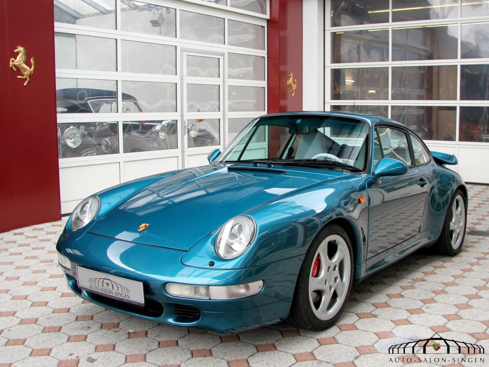 Porsche 993 Turbo Coupé - Auto Salon Singen