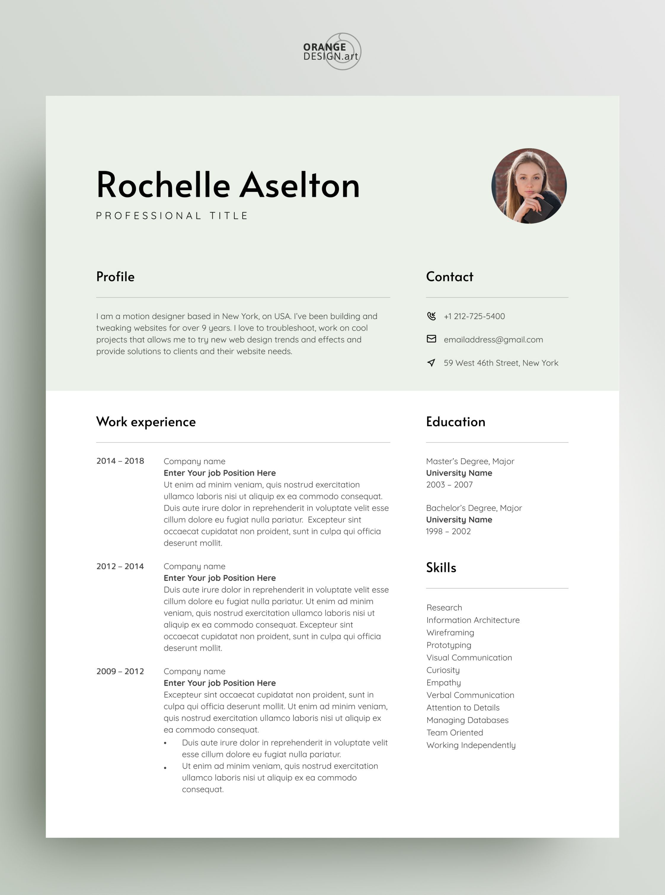 Modern Resume Template Resume Template Cover Letter Professional Resume For Word Resume Templates For Word Modern Resume Template Cv Template Cover Resume template for word 2007