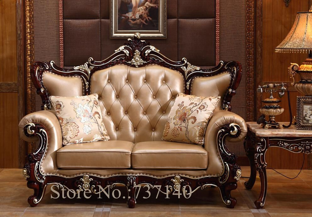 Furniture Antique Style Sofa Luxury