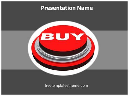Get This Free Buy Button Powerpoint Template With Different