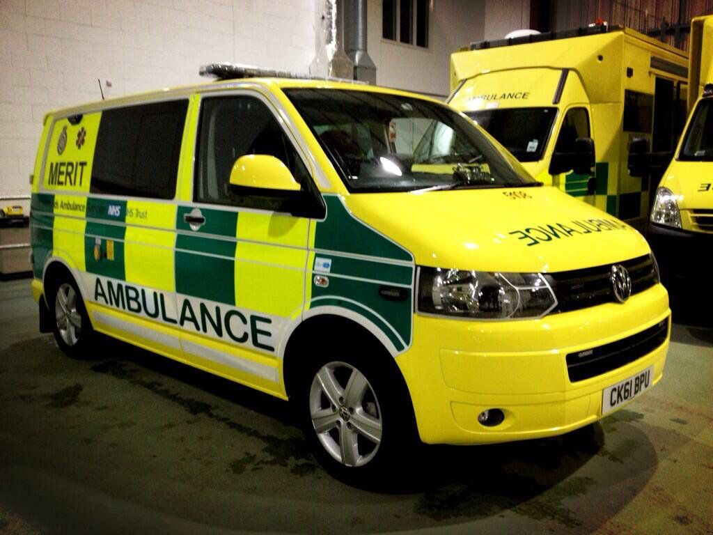 West Midlands Ambulance Services's MERIT vehicle