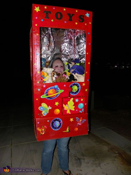 Claw Machine - Homemade costume for adults. Photo 3 of 7.