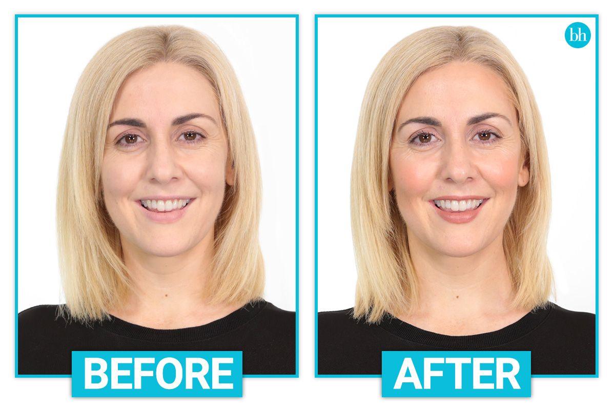 How to fake glowing skin with makeup Contour makeup