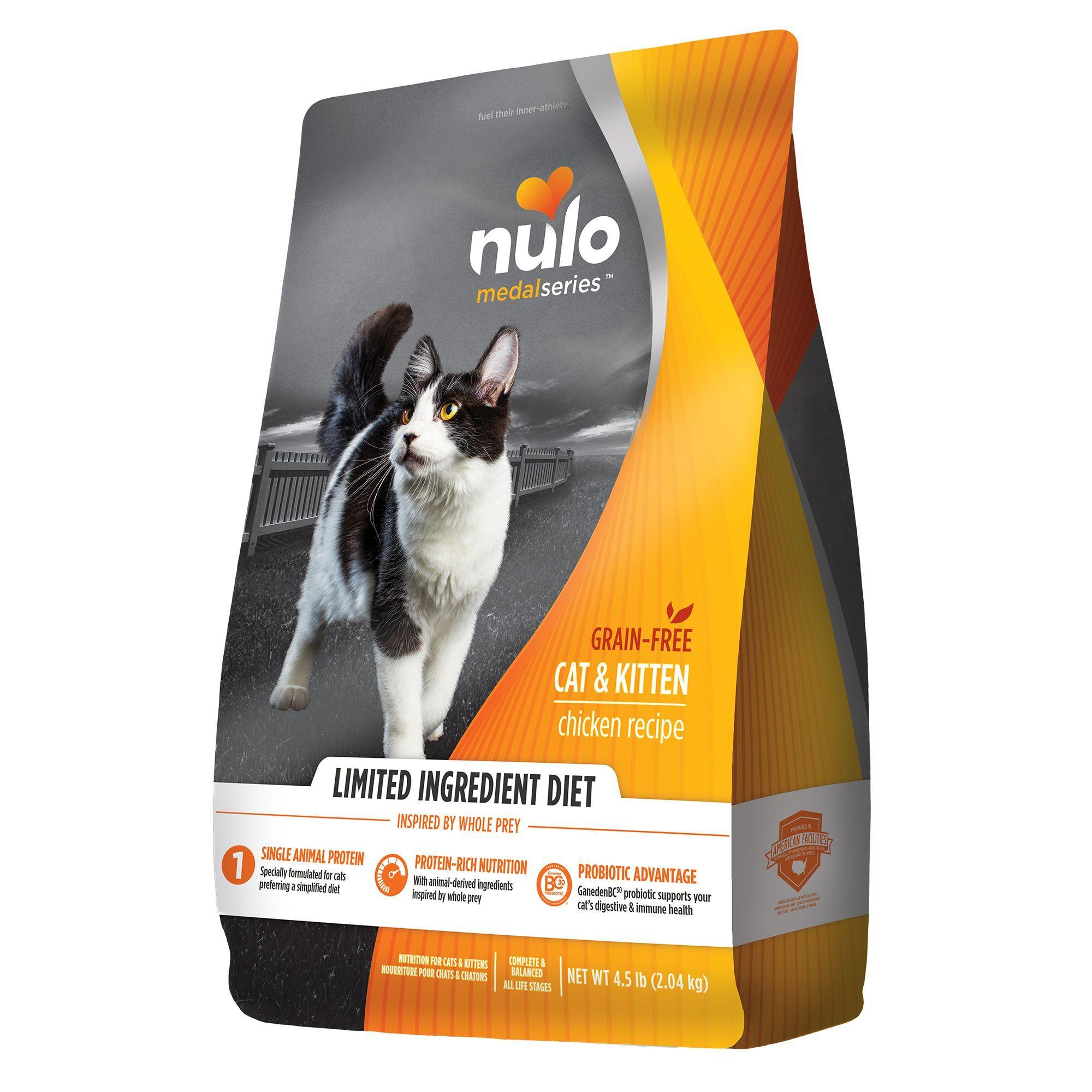 Nulo Medalseries Limited Ingredient Cat Food Grain Free Size