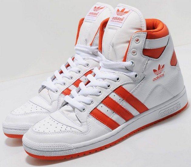 adidas Originals Decade Mid WhiteOrange | sneakers