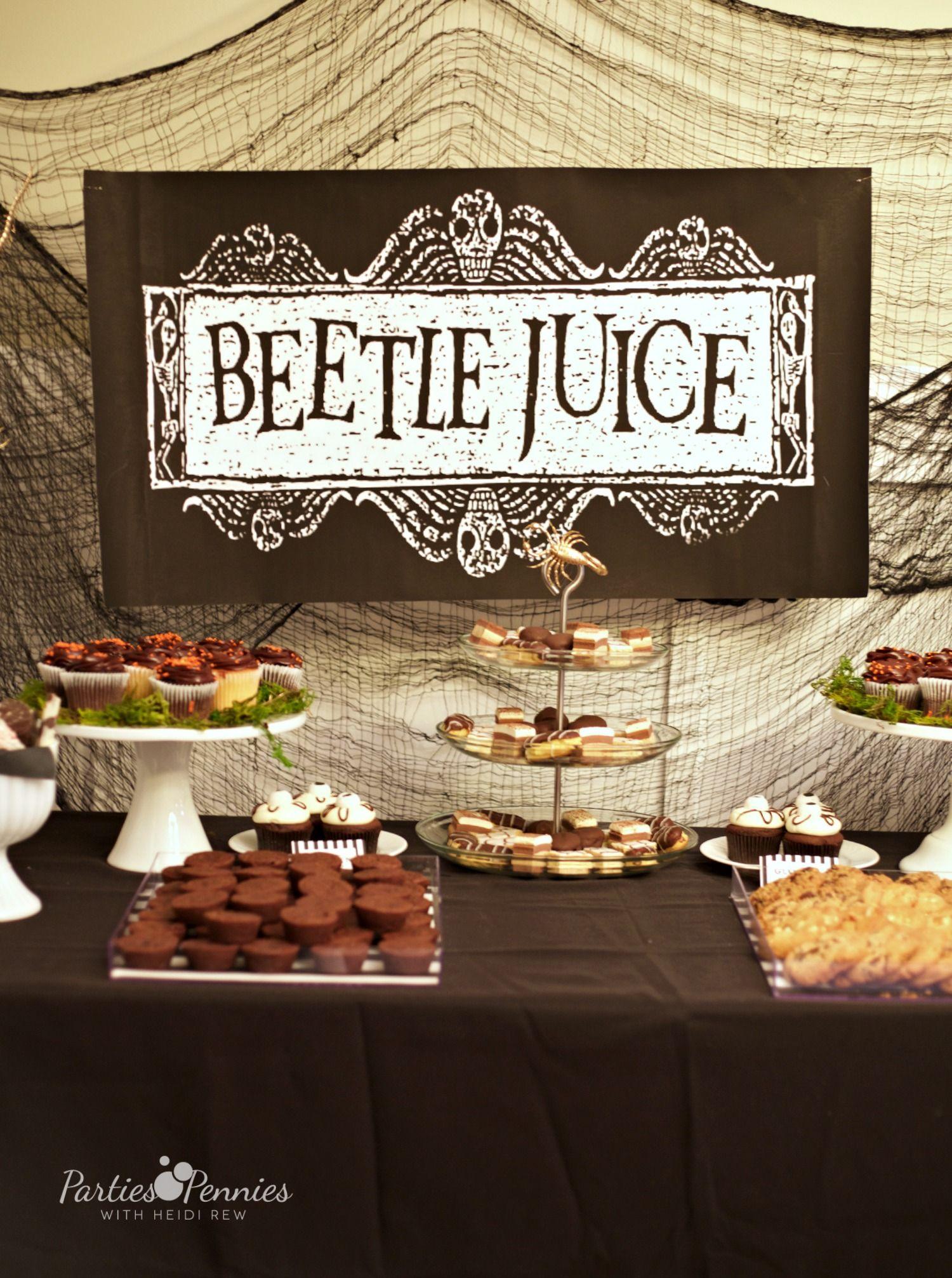Beetlejuice Halloween Party Beetlejuice halloween