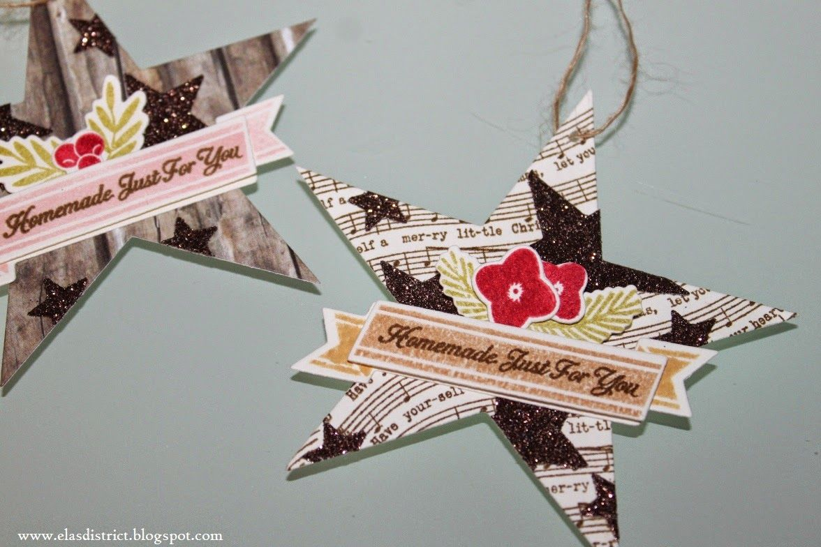 elasdistrict: Make It Monday #187: Partial Die Cuts for the Holidays