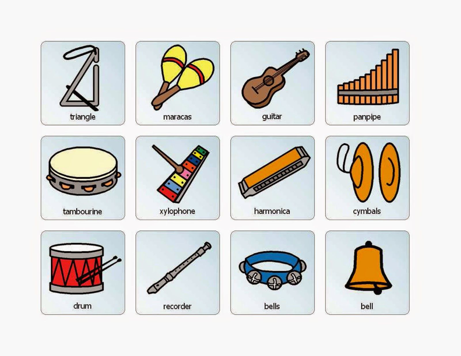 Musical Instruments That Begin With The Letter I