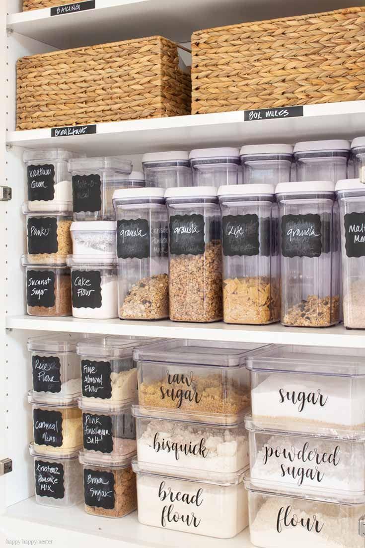 Organizing with Container Store Products