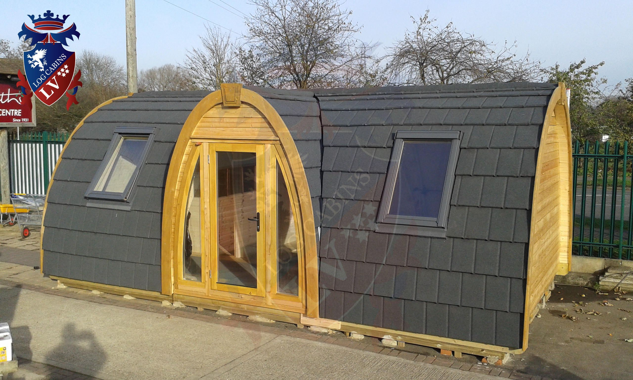 Log Cabin Tents Camping