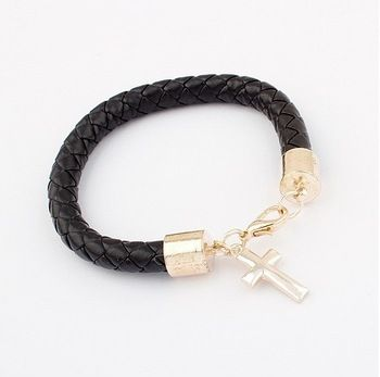 1.50 euro incl shipping (Min order$10) Free shipping!Europe and the United States retro all-match fashion leather bracelet!#2036