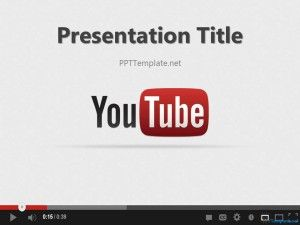Free youtube ppt template a powerpoint background with a youtube free youtube ppt template a powerpoint background with a youtube theme in the slide design toneelgroepblik Images
