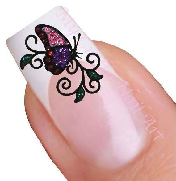 Hey, I found this really awesome Etsy listing at https://www.etsy.com/listing/164208830/pink-purple-butterfly-glitter-adhesive