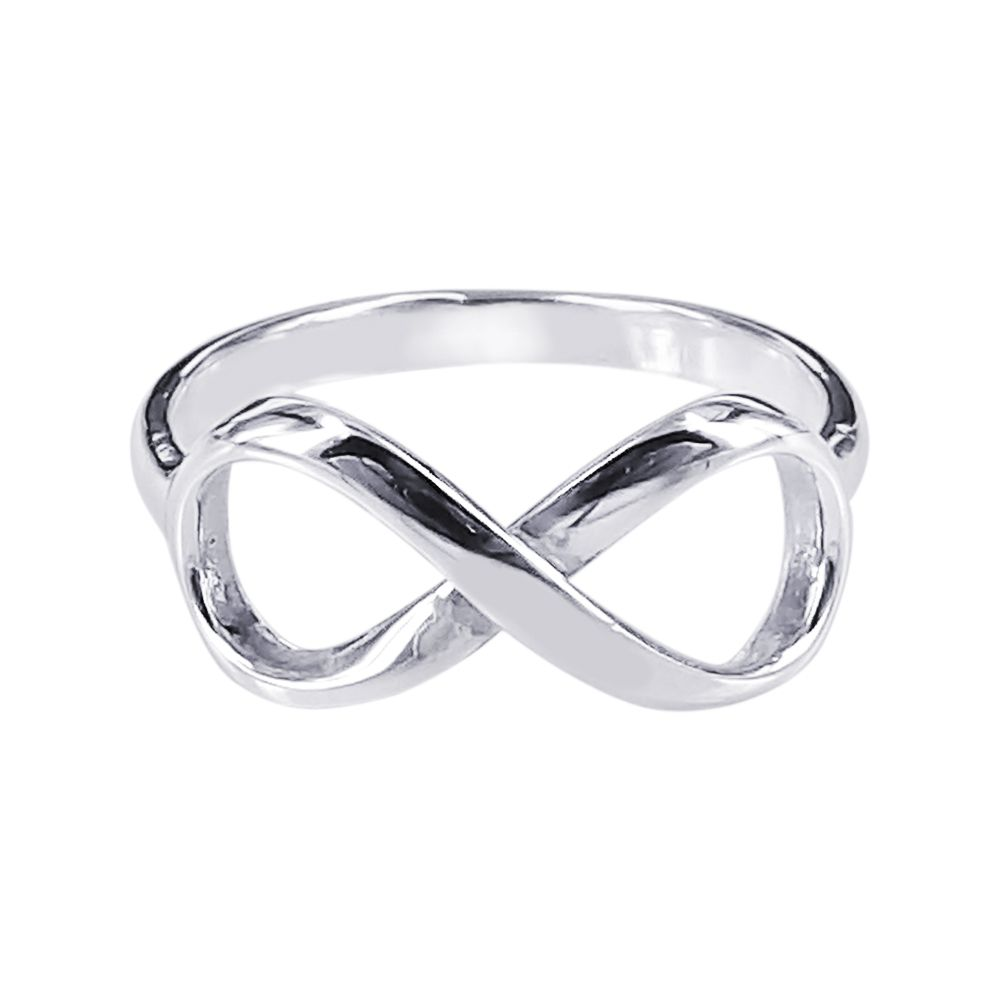 shipping infinity accessories platinum love from top item free ring fashion on symbol endless wholesale for in women quality rings real plated jewelry tail