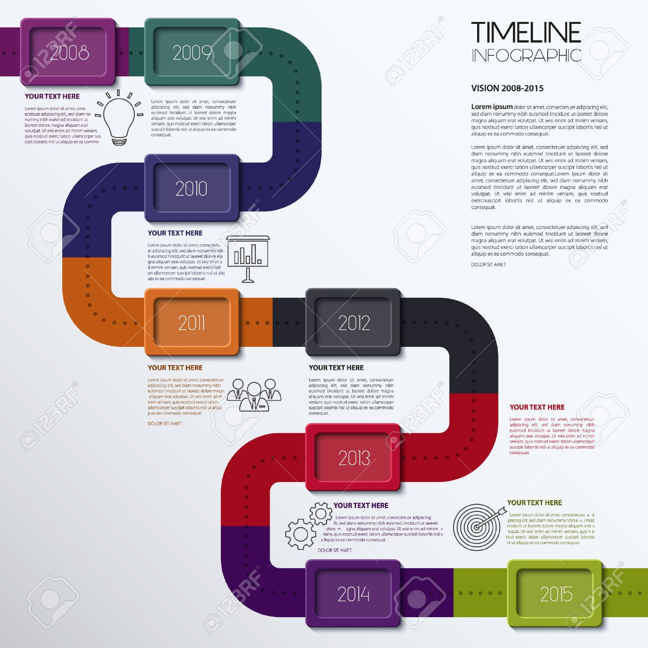 linea de tiempo creativa - Buscar con Google | Líneas de Tiempo ...