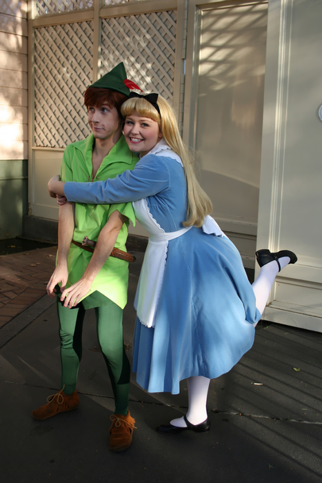 I hate it when Peter rejects my hugs!
