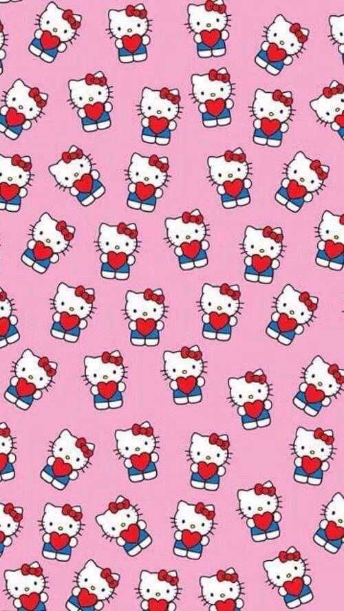 Hello kitty wallpaper. Pin de xandra funk