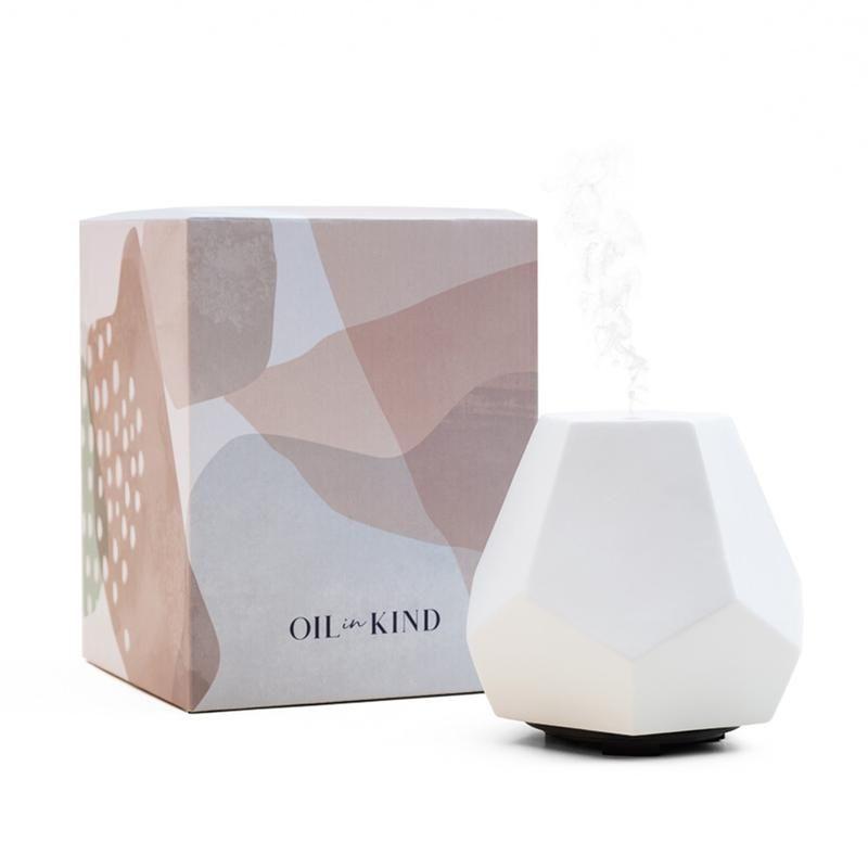 Geo Design Diffuser Blush Ceramic Limited Edition Diffuser