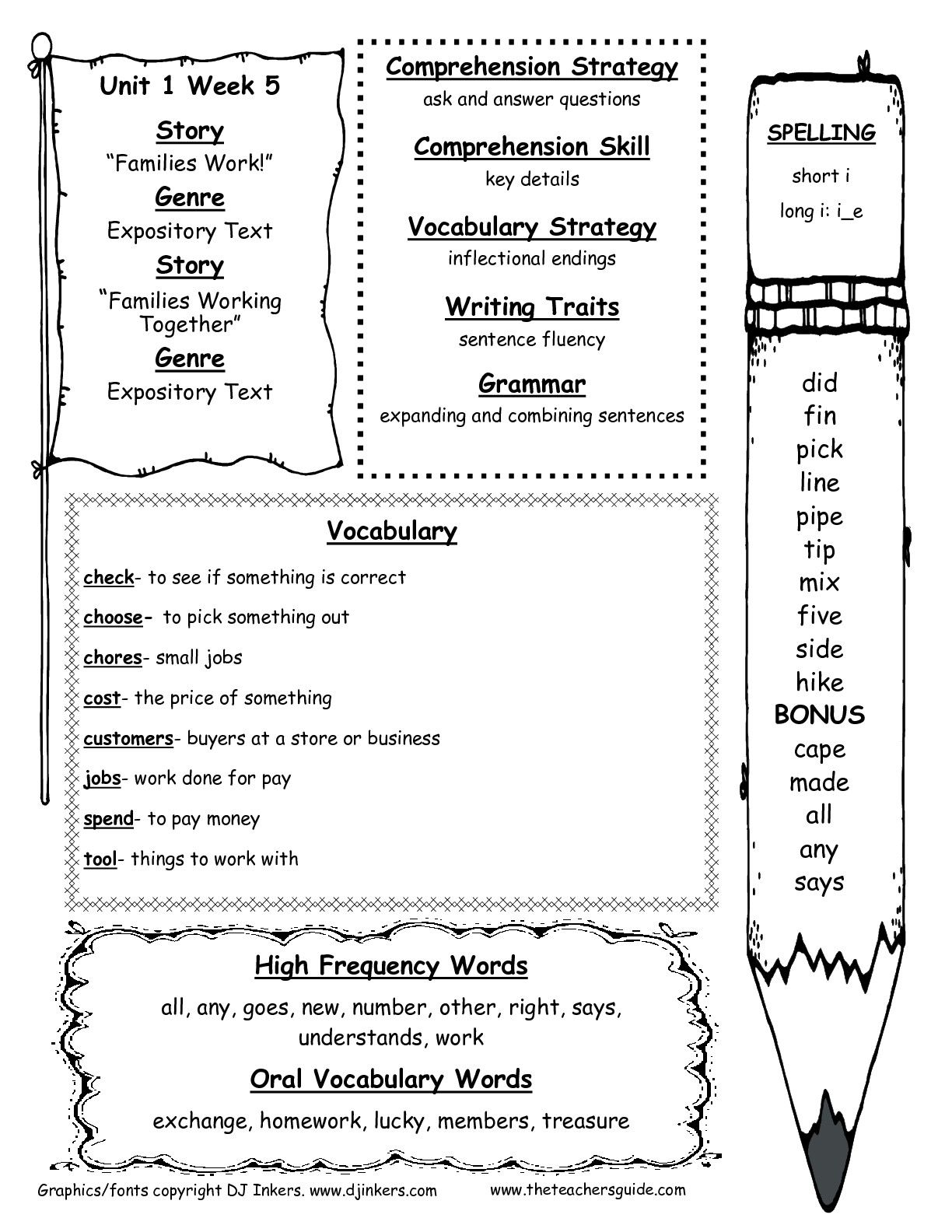 McGraw-Hill Wonders Second Grade Resources and Printouts ...