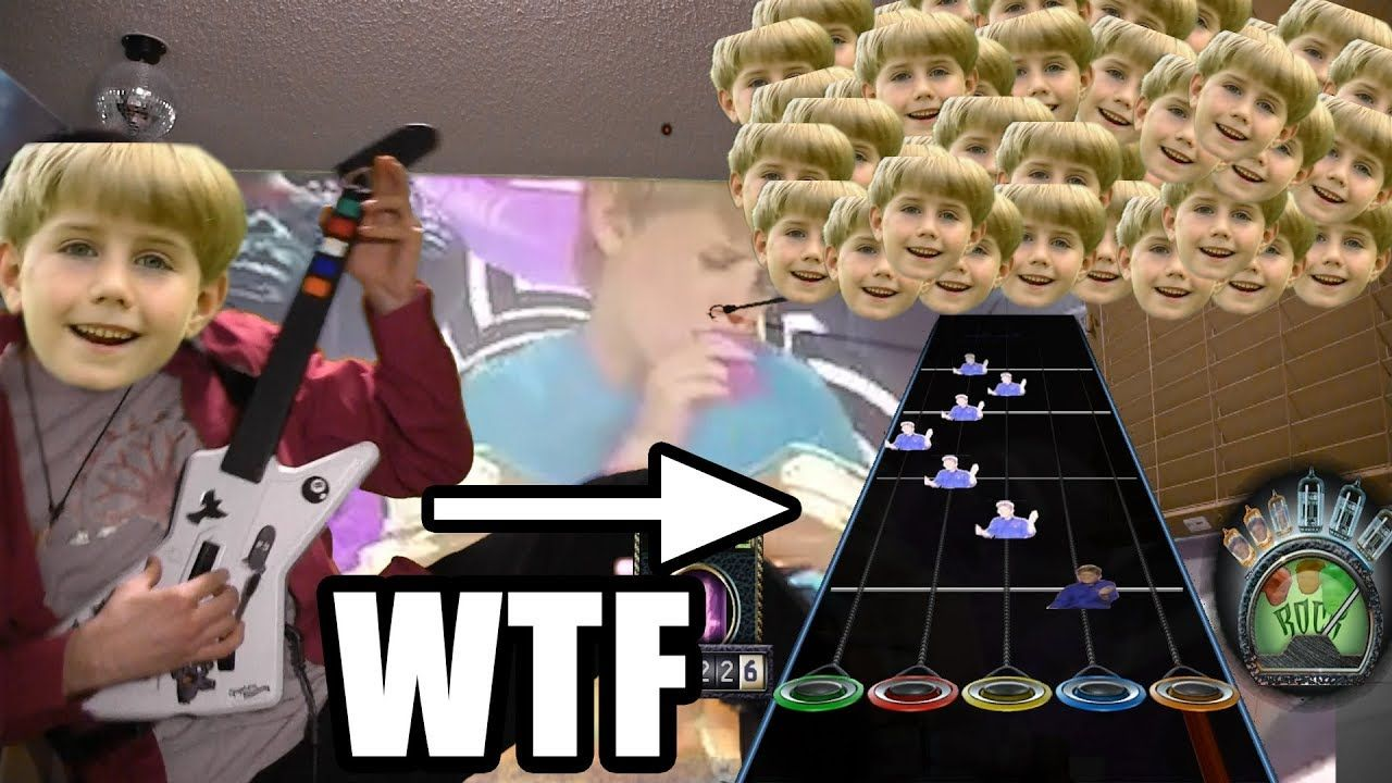 Kazoo Kid Actually A Secret Guitar Hero 3 Song Beware Too Much Cringe For Most To Handle Guitar Hero Kid Snippets Songs