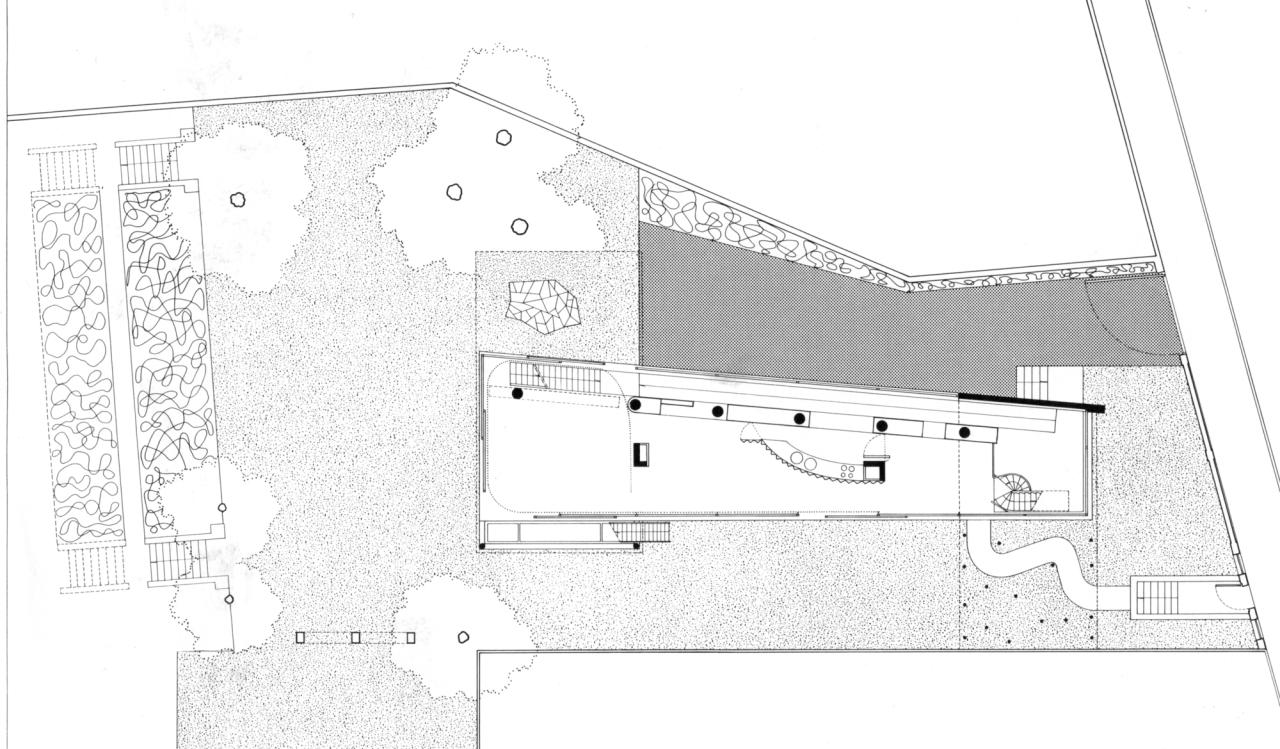 Rem koolhaas villa dall ava paris france 1991 atlas of - Nickkahler Oma Villa Dall Ava Paris France 1991