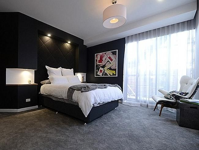 The Block Master Bedroom 2014 room reveal   rooms   pinterest   room