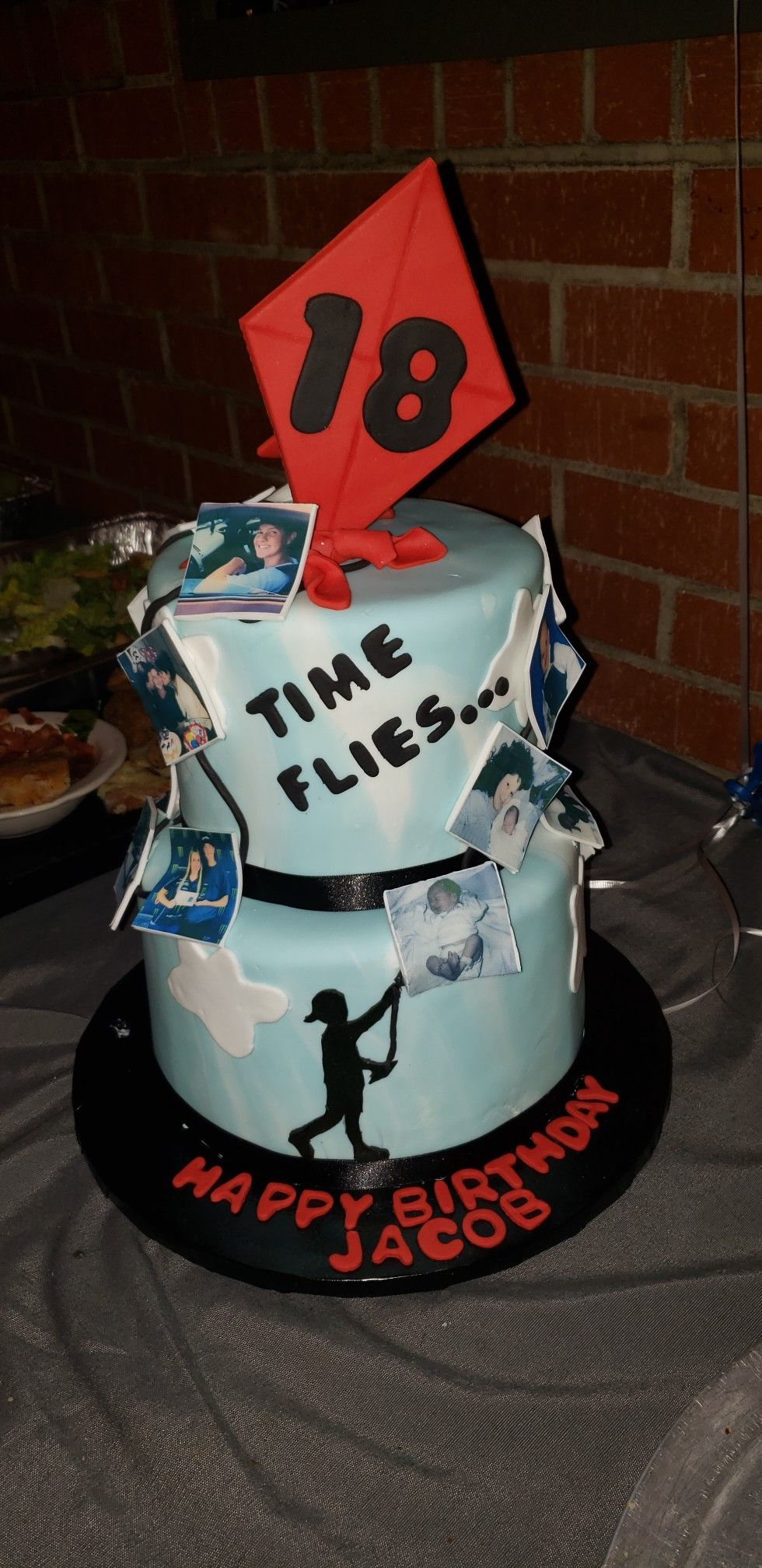 18th Birthday Cake Ideas For Guys : birthday, ideas, Flies, Birthday, Cake., Party, Cake,