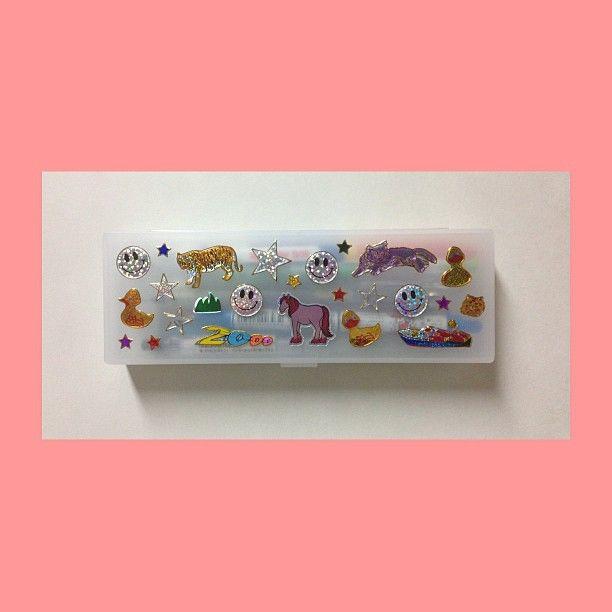 my D.I.Y. pencil box ⭐ (at )