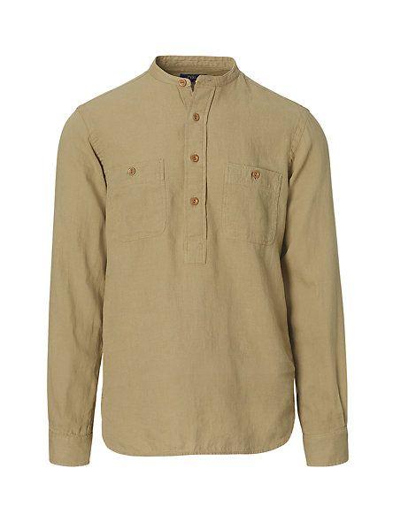 polo ralph lauren linneskjorta