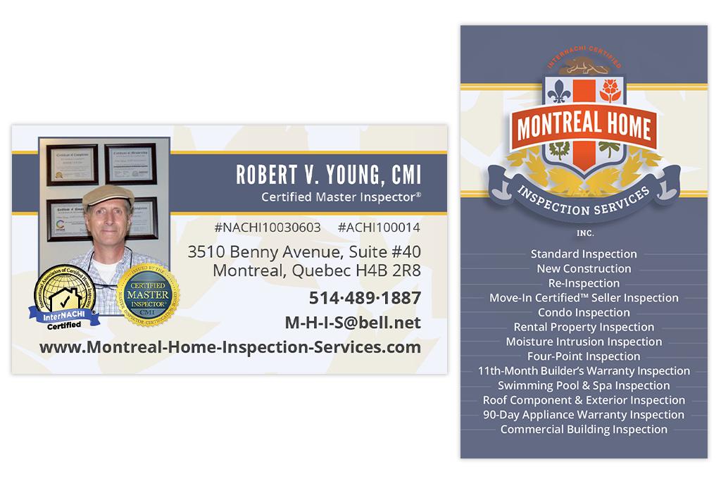 Business card inspector blog brochures business cards logos business card inspector blog brochures business cards logos montreal home inspection services colourmoves